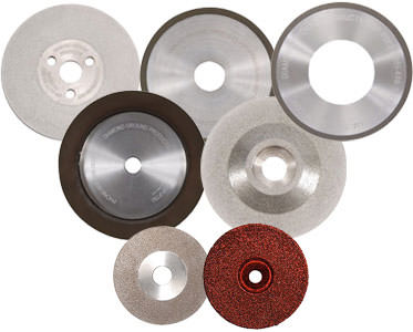 Replacement grinder wheels from Diamond Ground Products Ltd