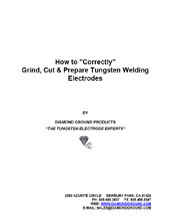 Pre-Ground Tungsten electrodes, Welding electrodes